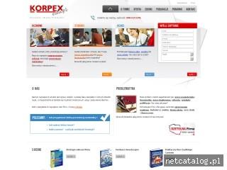 Zrzut ekranu strony magisterskie.prace.biz.pl