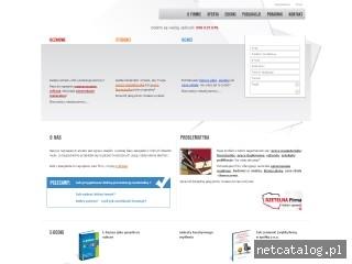 Zrzut ekranu strony licencjackie.prace.biz.pl