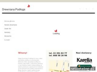 Zrzut ekranu strony www.deska-barlinecka.waw.pl