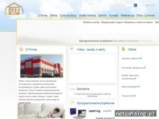 Zrzut ekranu strony www.bh-res.pl