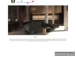 Zrzut ekranu strony www.rydzynski.pl