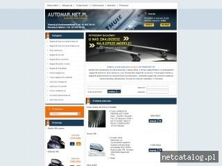 Zrzut ekranu strony www.automar.net.pl