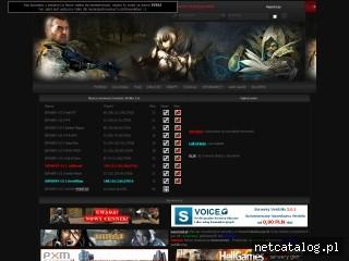 Zrzut ekranu strony serwery-cs.eu
