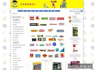 Zrzut ekranu strony www.nygus.pl