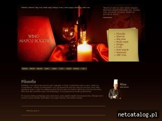 Zrzut ekranu strony napoj.bogow.com