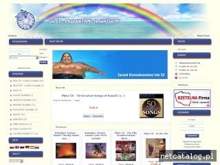 Zrzut ekranu strony www.sklep.alohamana.pl