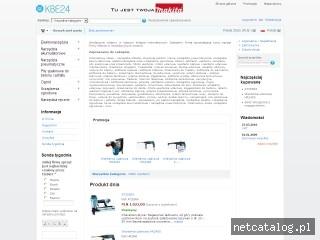 Zrzut ekranu strony kbe24.com