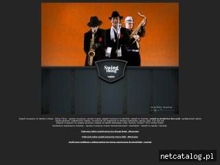 Zrzut ekranu strony www.swingthing.pl