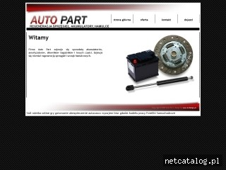 Zrzut ekranu strony www.autopart.radom.pl