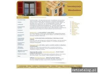 Zrzut ekranu strony www.mieszkaniowe.biz
