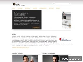 Zrzut ekranu strony www.i-t-h.szkoleniamenedzerskie.pl