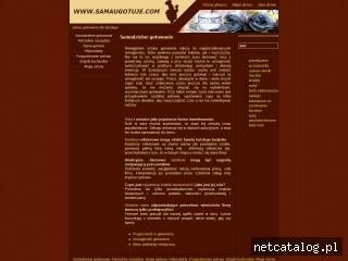 Zrzut ekranu strony www.samaugotuje.com