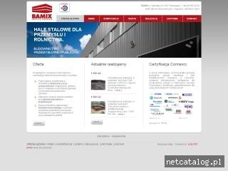 Zrzut ekranu strony www.bamix.pl