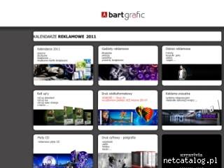 Zrzut ekranu strony www.bartgrafic.pl