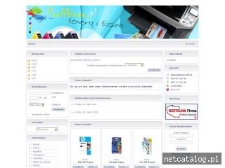 Zrzut ekranu strony www.profibiuro.pl