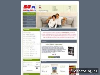 Zrzut ekranu strony www.swiatekgier.pl