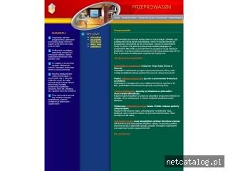 Zrzut ekranu strony przeprowadzka.bezstresu.com