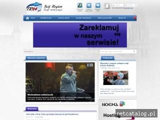 Zrzut ekranu strony tr24.pl