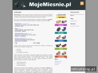Zrzut ekranu strony www.mojemiesnie.pl
