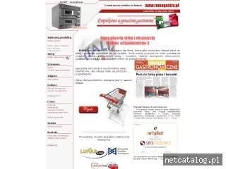 Zrzut ekranu strony www.piecedopizzy.pl