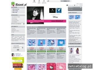 Zrzut ekranu strony www.belutek.pl