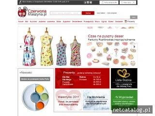 Zrzut ekranu strony czerwonamaszyna.pl