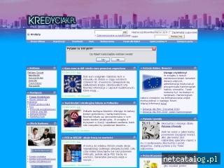 Zrzut ekranu strony www.kredyciak.pl