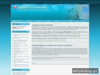 Zrzut ekranu strony www.polishenglish4u.com