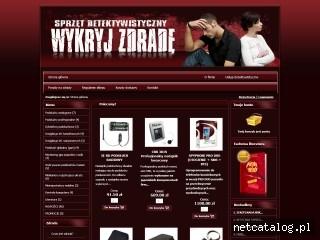 Zrzut ekranu strony www.zdrada-malzenska.pl