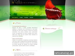 Zrzut ekranu strony budowaniestron.pl