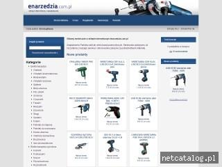 Zrzut ekranu strony www.enarzedzia.com.pl
