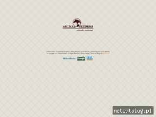 Zrzut ekranu strony www.animalfeeders.pl