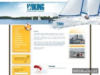 Zrzut ekranu strony www.e-wiking.com.pl