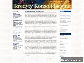 Zrzut ekranu strony konsolidacyjne.info