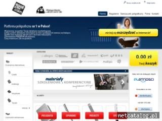 Zrzut ekranu strony www.epoligrafia.com
