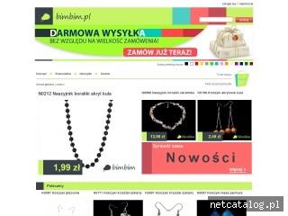 Zrzut ekranu strony bimbim.pl