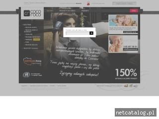 Zrzut ekranu strony www.cocoroco.pl