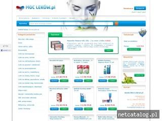 Zrzut ekranu strony www.moclekow.pl