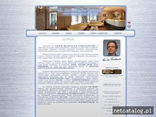 Zrzut ekranu strony www.frankowski.pl