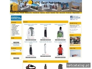Zrzut ekranu strony www.pietros.pl