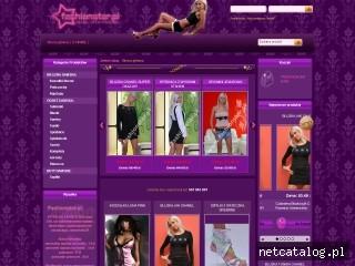 Zrzut ekranu strony www.fashionstar.pl