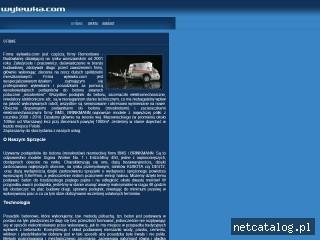 Zrzut ekranu strony www.wylewka.com
