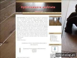 Zrzut ekranu strony budomaxparkiety.pl