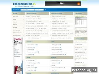 Zrzut ekranu strony www.programopedia.pl