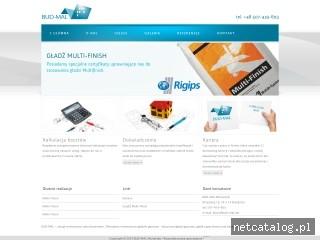 Zrzut ekranu strony www.bud-mal.net