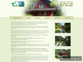 Zrzut ekranu strony www.ekopens.pl