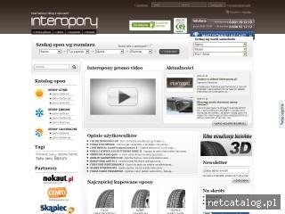Zrzut ekranu strony www.interopony.pl