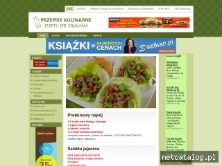 Zrzut ekranu strony www.dieta-dukana.pl