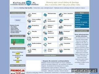 Zrzut ekranu strony www.kataloghq.pl