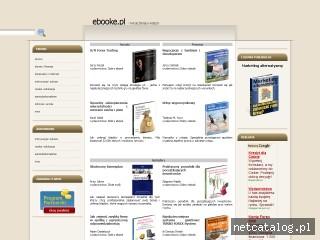 Zrzut ekranu strony ebooke.pl